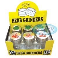 3 Part 50mm Metal Grinder Various Designs