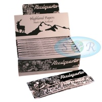 Highland Headquarter Extra Long Rolling Papers & Tips