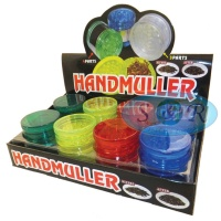 5 Part Acrylic Grinder Various Colours