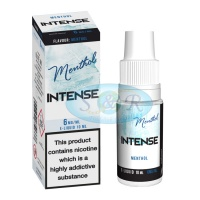 Intense eLiquid Menthol 10ml Bottles 4 Strengths