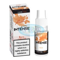 Intense eLiquid Peach 10ml Bottles 4 Strengths