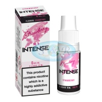 Intense eLiquid Strawberry 10ml Bottles 4 Strengths