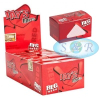 Jays Red Regular 5m Unflavoured Rolls Box of 24