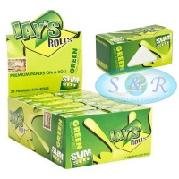 Jays Green Slim 5m Unflavoured Rolls