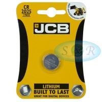JCB CR2025 3v Lithium Coin Cell Battery