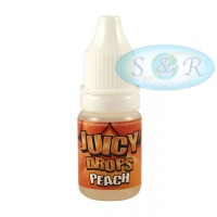 Juicy Jays Peach Tobacco Flavouring Drops Sold in 6s