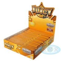 Juicy Jays Liquorice King Size Slim Flavoured Rolling Papers
