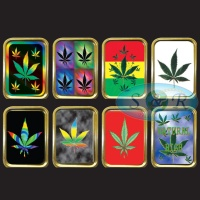 1oz & 2oz Gold Gift Tins Leaf