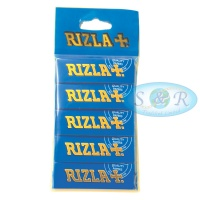 Rizla Blue Regular Rolling Papers Hanger x 5 Pack