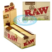 RAW Organic Hemp 1½ Size Rolling Papers
