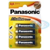 Panasonic Alkaline Power Batteries Size AA