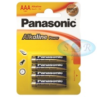 Panasonic Alkaline Power Batteries Size AAA