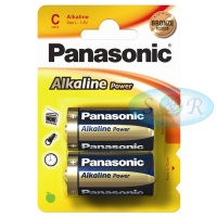 Panasonic Alkaline Power Batteries Size C