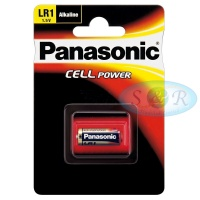 Panasonic Cell Power Alkaline Battery Size LR1