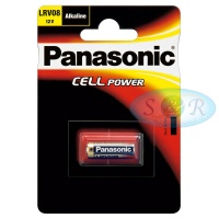 Panasonic Cell Power Alkaline Battery Size LRV08 12v