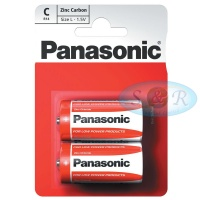 Panasonic Zinc Power Batteries Size C