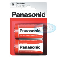 Panasonic Zinc Power Batteries Size D