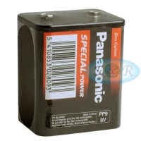 Panasonic PP9 Special Power Heavy Duty 9v Battery