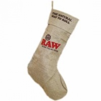Raw Christmas Stocking