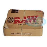 RAW Rolling Papers Printed Tobacco Tin