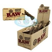 RAW Hemp Wick 1m