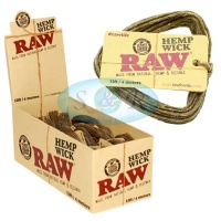 RAW Hemp Wick 4m