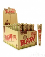 RAW Organic King Size 3 Pack Cones