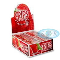 Rips Strawberry Flavoured 4m Slim Rolls