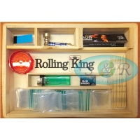 Rolling King Large Rolling Tray Smokers Gift Set 1