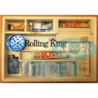 Rolling King Large Rolling Tray Smokers Gift Set 2