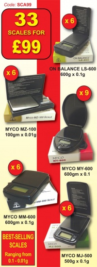 Myco - On Balance Digital Scales - 33 Scales for £99