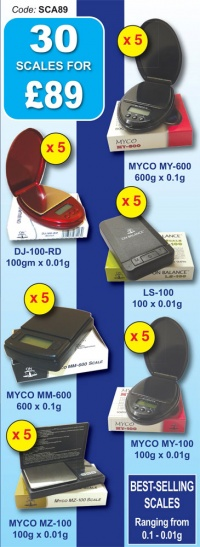 Myco - On Balance Digital Scales Special Offer 2 - 30 Scales for £89