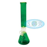 12 Inch Percolator Mixed Colours Glass Waterpipe Bong