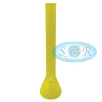 18 Inch Frosted Colour Glass Waterpipe Bong