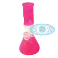 8 Inch Percolator Frosted Colour Glass Waterpipe Bong