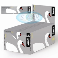 Swan Silver King Size Slim Rolling Papers