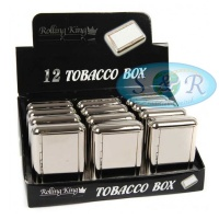 Rolling King Tobacco Box Plain No Design