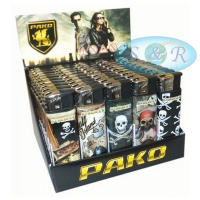 Pako Pirates Electronic Refillable Lighters