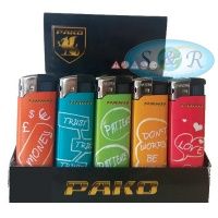 Pako Sayings Electronic Refillable Lighters