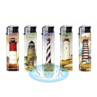 Pako Nautical Electronic Refillable Lighters 50 per Pack
