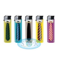 Pako Ties Electronic Refillable Lighters