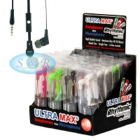 Ultra Max Tangle Free Earphones with Mic