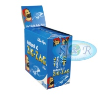 Zig-Zag Blue King Size Slim Multipack Rolling Papers