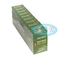 Zig-Zag Green Regular Multipack Rolling Papers