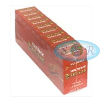 Zig-Zag Red Regular Multipack Rolling Papers