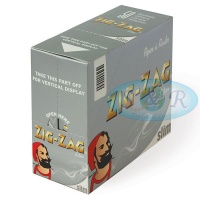 Zig-Zag Silver King Size Slim Rolling Papers