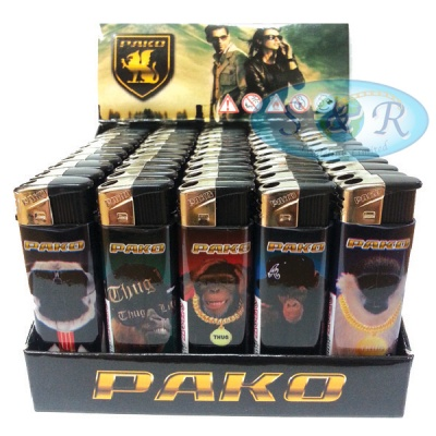 Pako Thugs Electronic Refillable Lighters