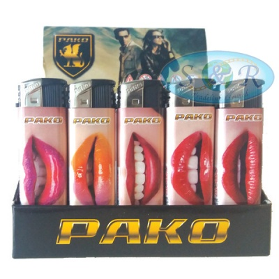 Pako Lips Electronic Refillable Lighters