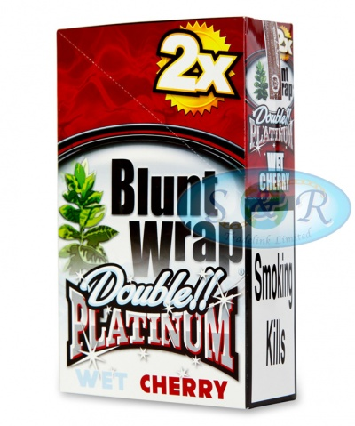 Blunt Wrap Double Platinum Maroon